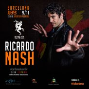 RICARDO NASH_Barcelona Flyer Instagram